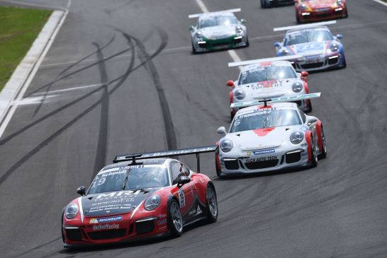 Porsche Supercup – Jeffrey Schmidt and Philipp Frommenwiler 4th and 5th