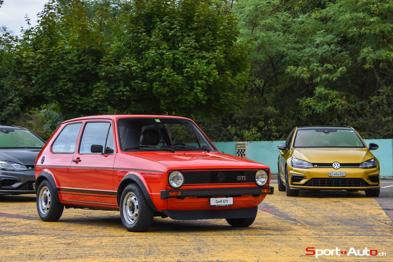 EN PISTE AVEC LES VW GOLF R ET GOLF GTI TCR - Sport-Auto.ch