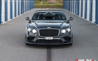 ESSAI BENTLEY CONTINENTAL SUPERSPORTS