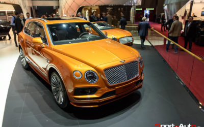 GENÈVE 2019 – BENTLEY BENTAYGA SPEED