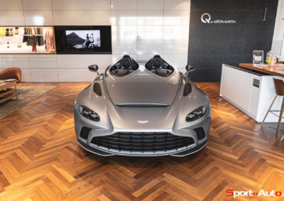 Aston Martin V12 Speedster Showroom -41