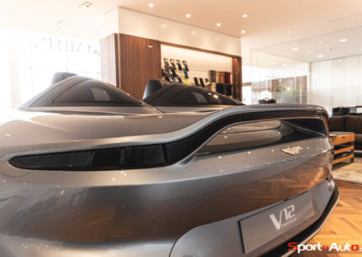 Aston Martin V12 Speedster Showroom -51