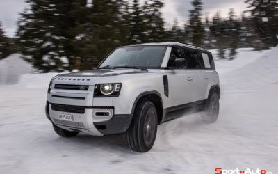 ESSAI LAND ROVER DEFENDER 110 P400