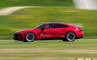 ESSAI AUDI RS E-TRON GT – PRIME TIME !