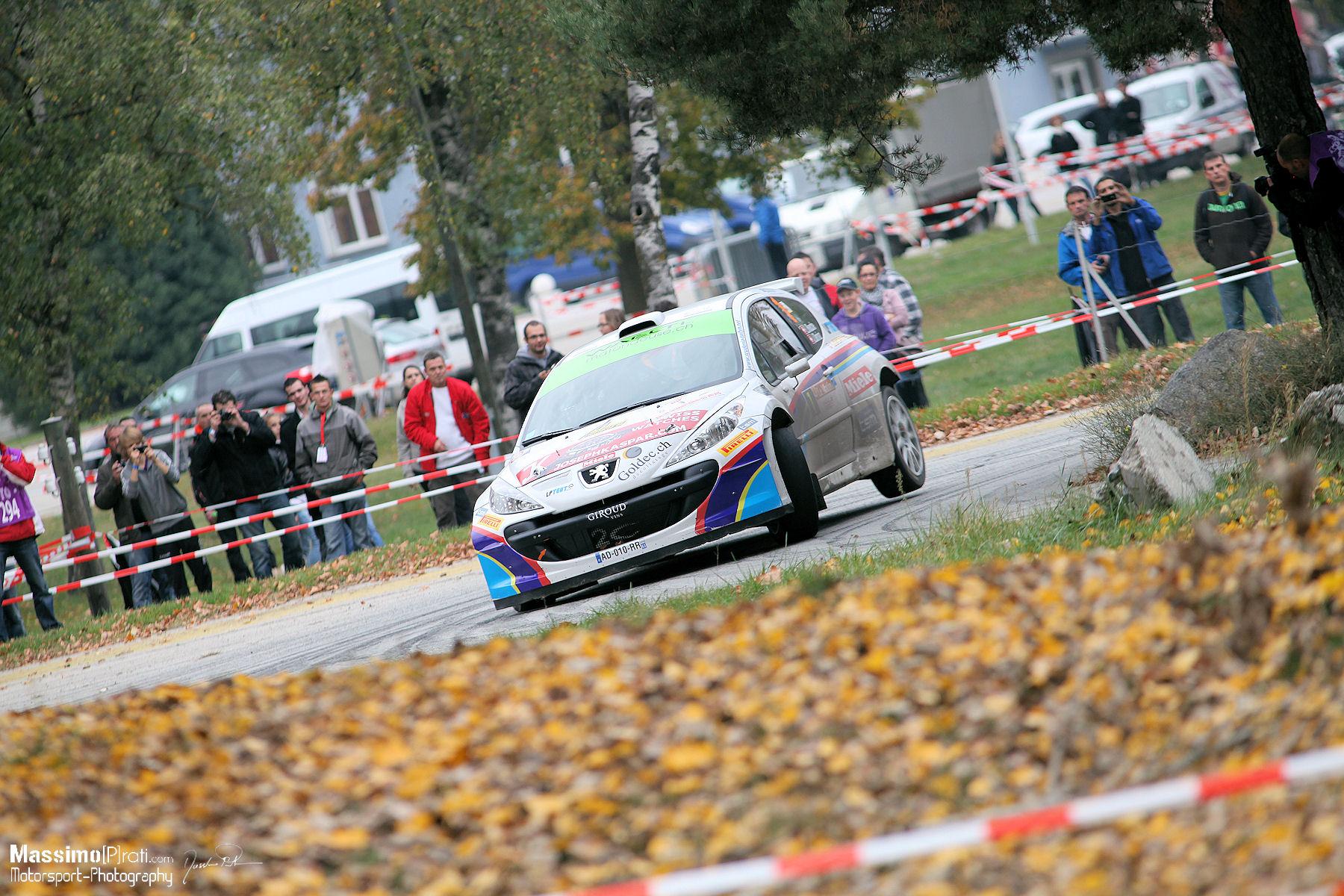 1er : Reuche Laurent - Deriaz Jean (Peugeot 207 S2000)