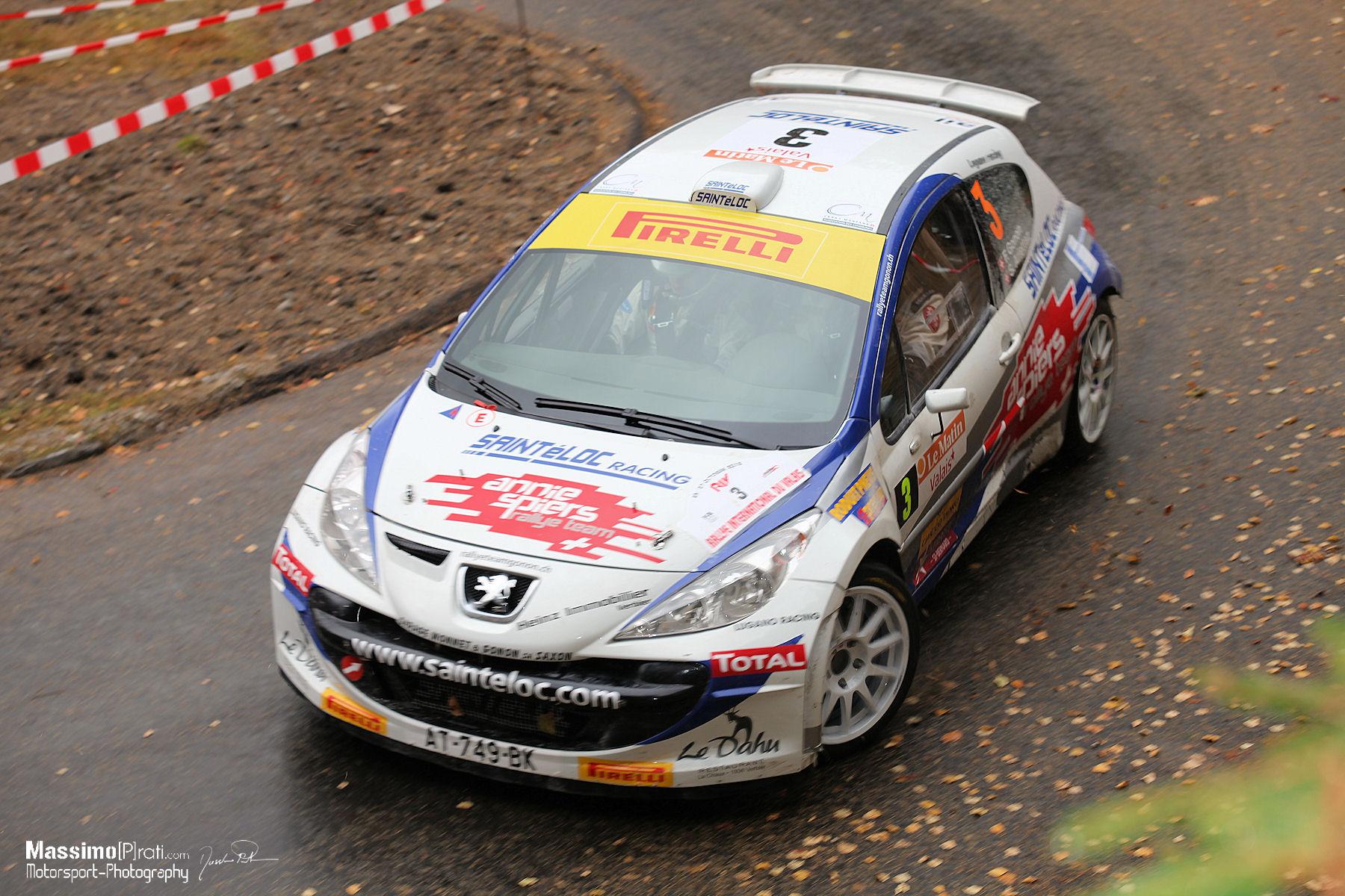 2e : Gonon Florian - Arlettaz Sandra (Peugeot 207 S2000)
