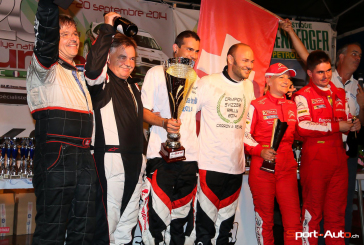 Rallye du Suran – Sébastien Carron/Lucien Revaz en Champions