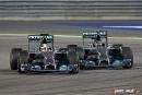 F1 – doublé Mercedes à Bahreïn : Hamilton devant Rosberg après un intense duel entre coéquipiers
