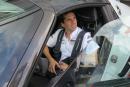 Neel Jani au volant de la Porsche 918 Spyder à Monza