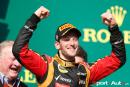 GP des USA – Romain Grosjean 2e