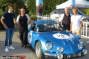 Alain Prost associé à son fils Nicolas au Rallye Gstaad Classic