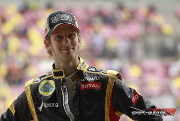 """F1- Grosjean: """"Je reviens plus fort que jamais"""""""