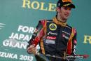GP du Japon – Nouveau podium pour Grosjean – les 2 Sauber dans les points