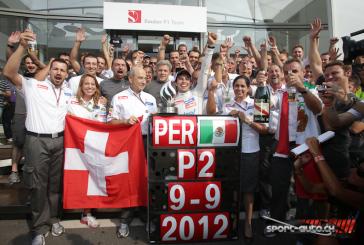 F1 – GP Italie – Sauber à la fête !