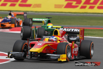 GP2 – Silverstone – Fabio Leimer au pied du Podium
