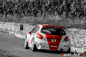 Jonathan Hirschi / Vincent Landais - Peugeot 208 T 16 Rallye de France 2014