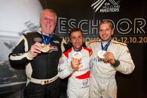 Bodson - Schatz - Berguerand : Vainqueurs  FIA Hill Climb Masters 2014