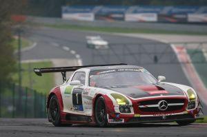 La Mercedes SLS du Hofor Racing
