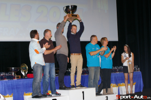 Un duo de Valaisans d'adoption remporte la Coupe de France des Rallyes VHC