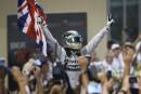 Lewis Hamilton remporte le Grand-Prix d'Abu Dhabi et le championnat du Monde