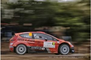 Tour de Corse 2014  ERC : Résumé du premier jour