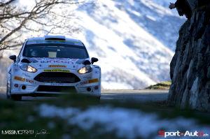 Olivier Burri  / Ford Fiesta R5 - RIV 2014