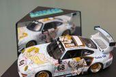 Hommage à Wolinski qui dessina en 1998 la Porsche Haberthur du Mans
