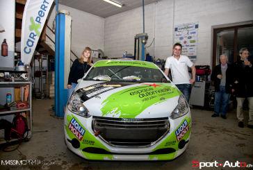 WRC – Monte-Carlo 2015 – Présentation des équipages Althaus-Bayard et Cornuz–Robert