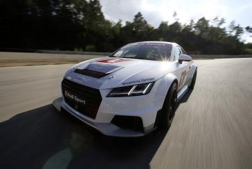 Levin Amweg im Audi Sport TT Cup