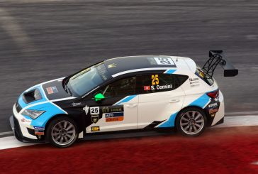Stefano Comini was the first winner of a TCR race!