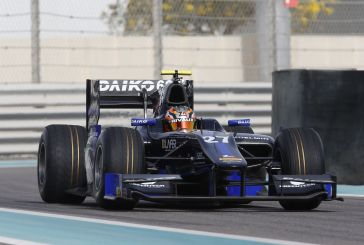 First day in GP2 test session for Zoel Amberg