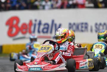 Karting – la folle remontée de Lucas Légeret