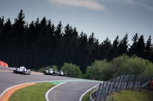 Audi, Porsche et Toyota à l'attaque du raidillon de l'Eau Rouge
