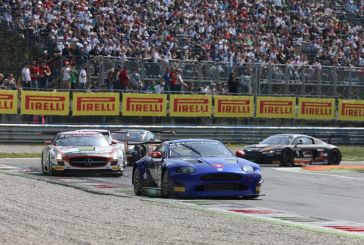 A fast lapping Fredy Barth at Monza