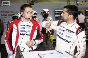 Andreas Seidl, Teamchef Porsche Team, Porsche Team: Neel Jani (l-r)