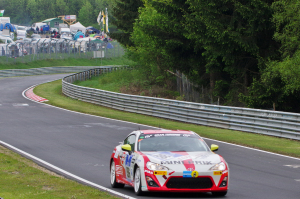196 Toyota Swiss Racing Team : Herbie Schmidt, Benjiamin Albertalli, Manuel Amweg ; Toyota GT86 : 102ème au général, vainqueur de classe