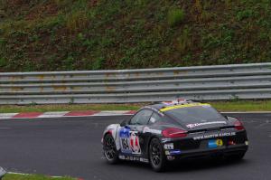 164 : Ivan Jacoma ; Porsche Cayman S : abandon