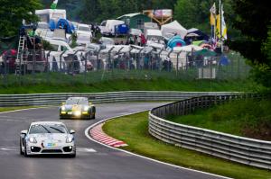 166 : Rüdiger Schicht ; Porsche Cayman R : abandon