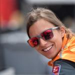 Essais Indy 500 - la monoplace de Simona de Silvestro en feu!  (vidéo)