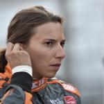 Simona de Silvestro - Indy 500 2015