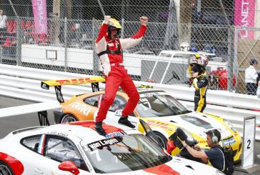 Fach Auto Tech, with Jaap van Lagen, win in Monaco