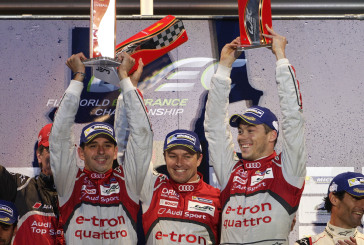 Audi and Marcel Fässler celebrates second WEC season victory at Spa