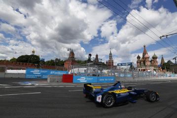 Formula E à Moscou: Buemi une 3e place transformée en 9e rang