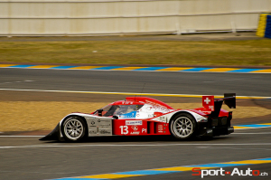 Rebellion aux 24h du Mans 2009