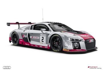 The Belgian Audi Club Team WRT to defend Spa 24 hrs title with two different generations of the Audi R8 racer
