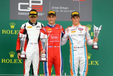 GP3 – Erstes Podium für Boschung in Silverstone