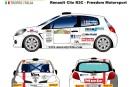 Kim Daldini a choisi l'Italie pour ses débuts en Clio R3
