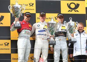 DTM - Edoardo Mortara deuxième du championnat après un nouveau podium