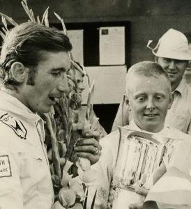 Jo Siffert (à g.) et Herbert Müller.