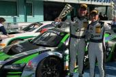 First win in ADAC GT Masters for Rahel Frey